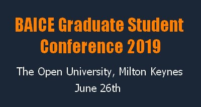 BAICE student conference banner